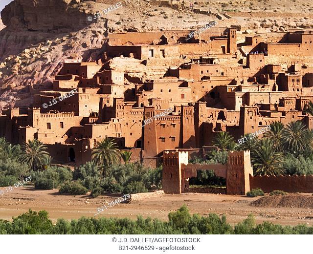 Morocco, Kasbah of Aït Ben Haddou