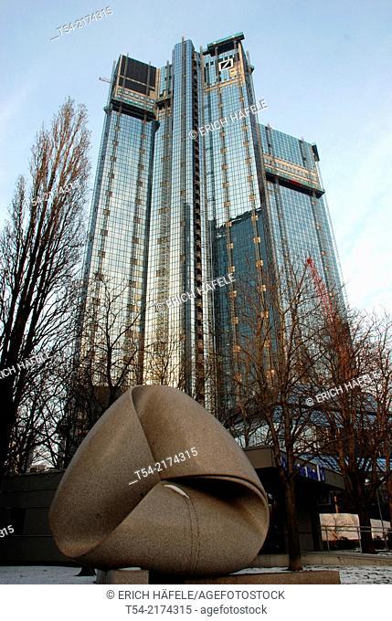 German Bank Tower in Frankfurt / Main