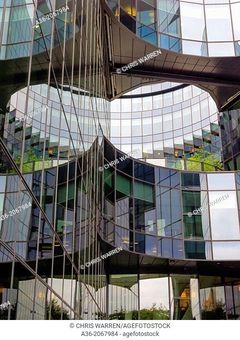 More London Development on the South Bank London England