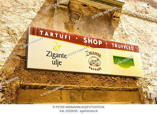 Istria, Croatia, Groznjan