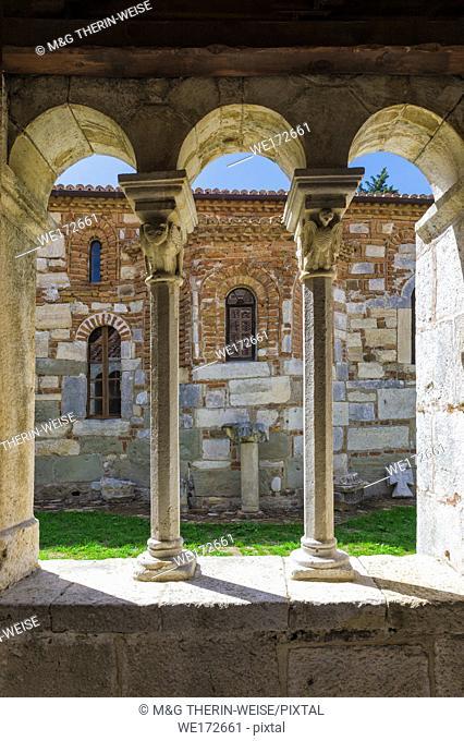 Byzantine Abbey of Pojan, Saint Mary Orthodox Church and Monastery, Exonarthex, Apollonia Archaeological Park, Pojani Village, Illyria, Albania