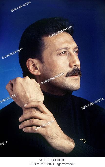 1992, Portrait of Jackie Shroff