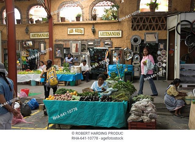 Artisans Market, San Miguel de Allende San Miguel, Guanajuato State, Mexico, North America