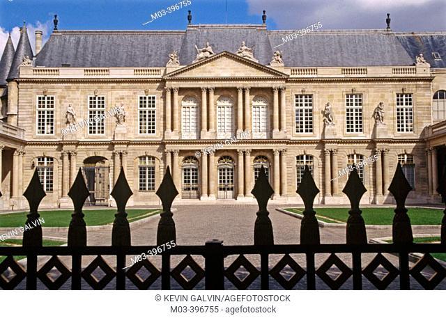 National Archives, Le Marais. Paris, France