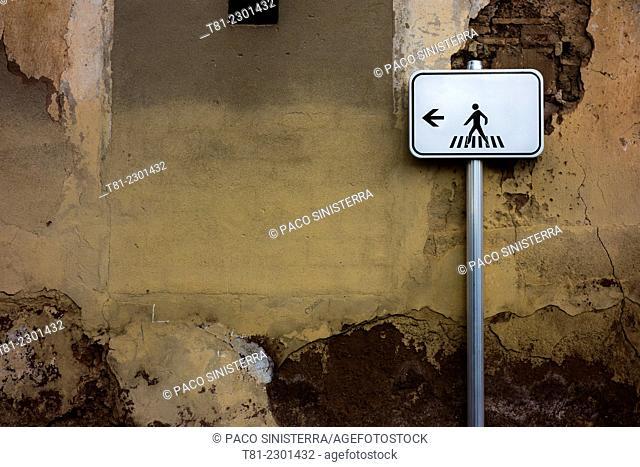 zebra crossing signal, Moncada, Valencia