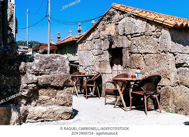 Horreos, traditional stone granaries