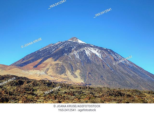 Tenerife, volcano Mount Teide