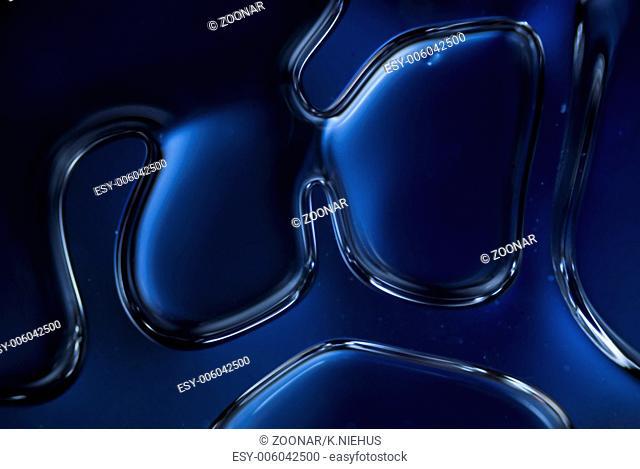 Glue under a Microscope
