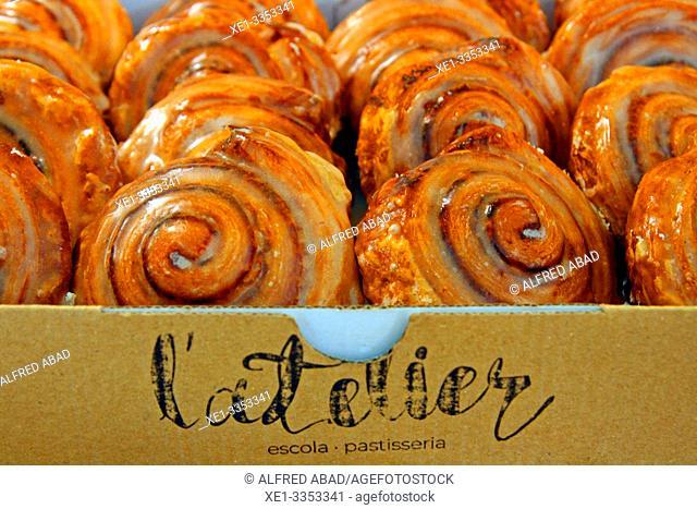 pastry shop, gastronomic festival 'Tast a la Rambla', 6th Gastronomy Week of Barcelona, Catalonia, Spain