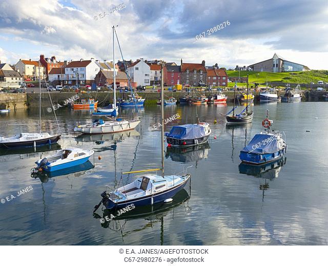 Victoria Harbour, Dunbar, East Lothian, Scotland