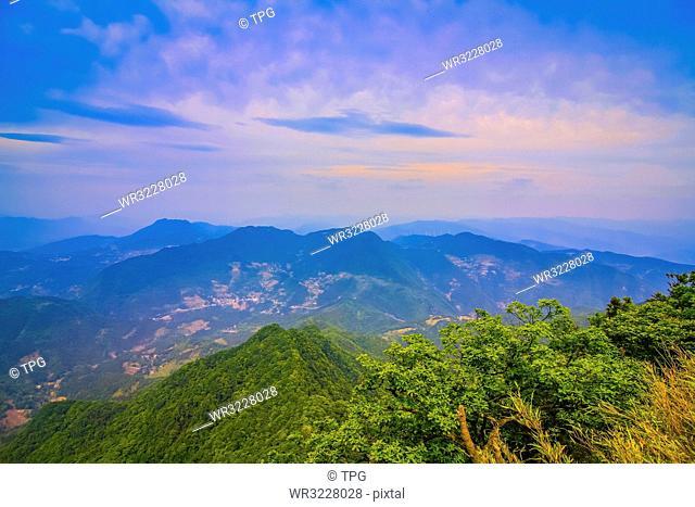 mountain;China