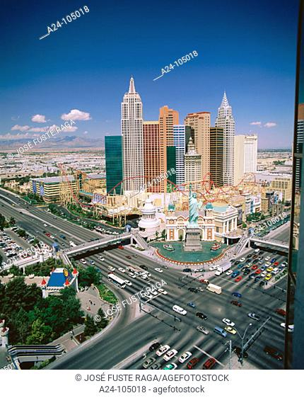 The Strip. Las Vegas. USA