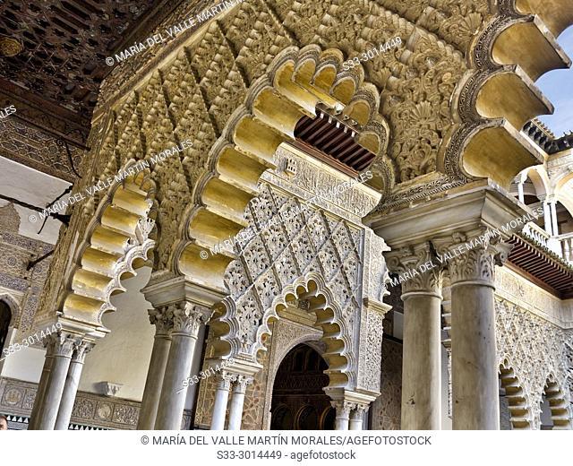Alcazar in Sevilla Andalucia. Spain