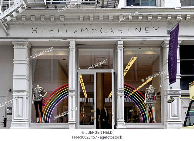 Stella McCartney Boutique in Soho, Manhattan, New York