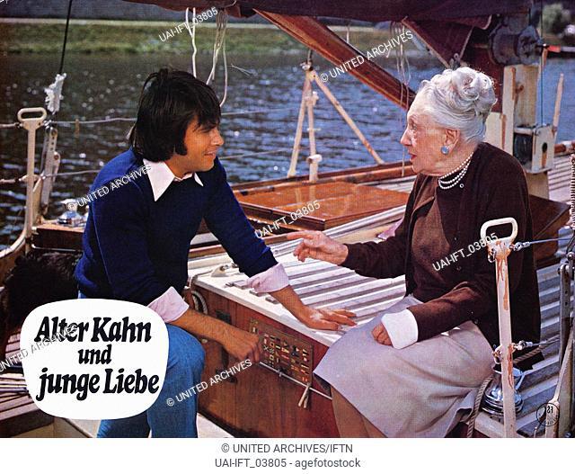 Alter Kahn und junge Liebe, Deutschland 1973, Regie: Werner Jacobs, Darsteller: Roy Black, Agnes Windeck