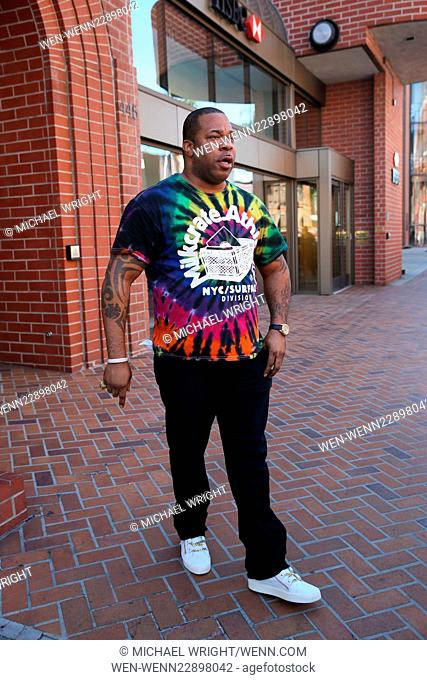 Busta Rhymes spotted at HSBC bank in Beverly Hills Featuring: Busta Rhymes Where: Los Angeles, California, United States When: 18 Sep 2015 Credit: Michael...
