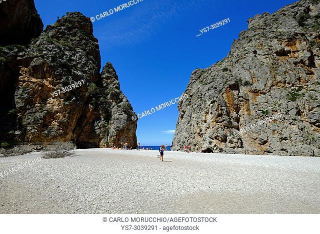 Torrent de Pareis, Port de Sa Calobra, Majorca, Balearic Islands, Spain