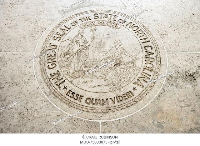 Seal of North Carolina in Fort Bonifacio, Manila, Philippines