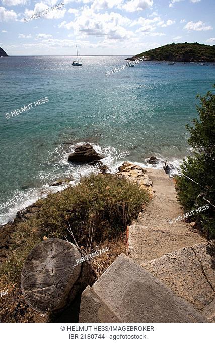 Coast, Sant Elm, southwest coast, Majorca, Balearic Islands, Spain, Europe
