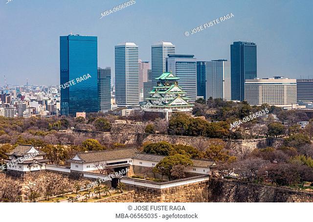 Japan, Kansai, Osaka City, Osaka Castle
