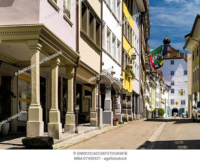Medieval old town of Wil, St. Gallen