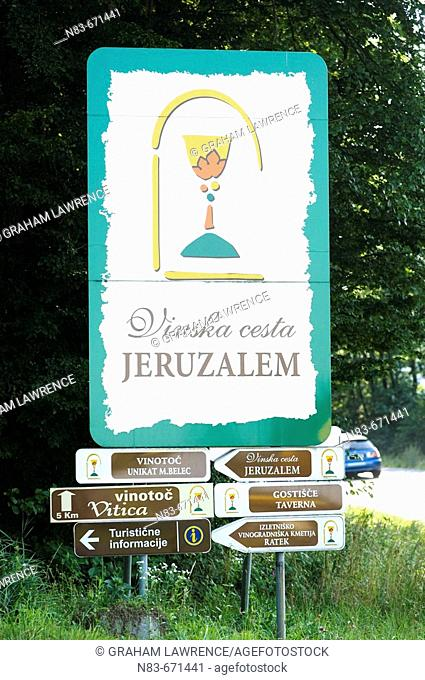 Jeruzalem vineyards, Mura Pomurje, Slovenia, Balkans, Europe