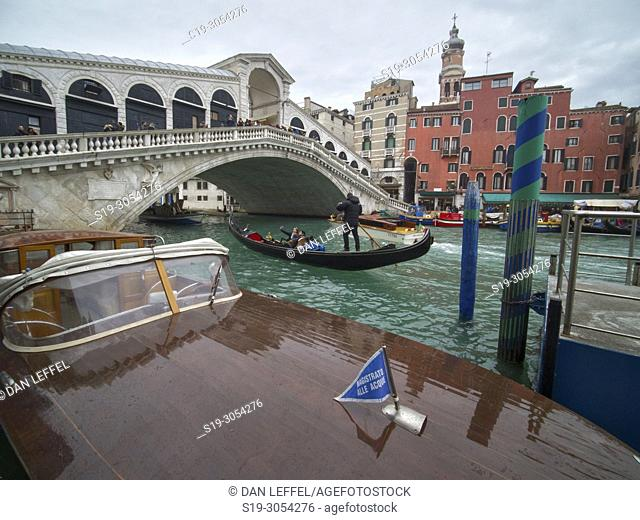 Water Taxi. Venice, Italy