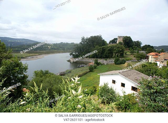 Nalon River Mouth, Asturias, Spain, Europe
