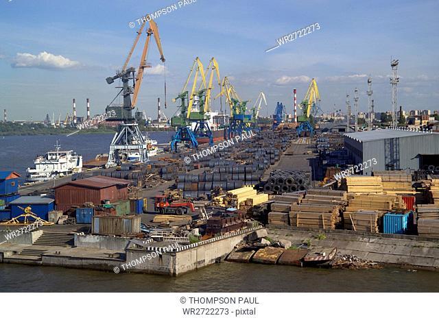 90900270, Commercial Dockyard, St Petersburg, Russ