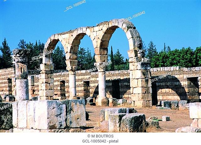 Anjar Fortress, Lebanon