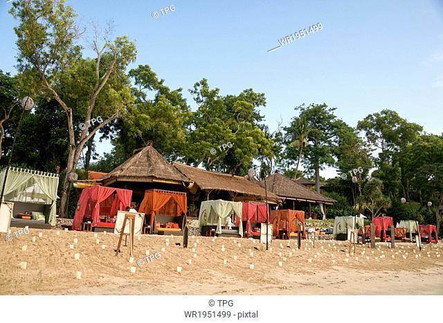 Jimbaran Beach in Bali, Indonesia