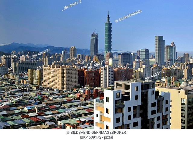 101 Building, view of the city, Taipei, Taiwan