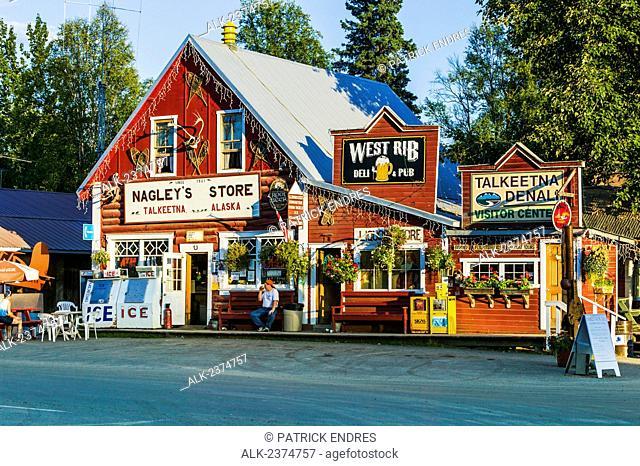 Nagley's Store in downtown Talkeetna; Talkeetna, Alaska, United States of America
