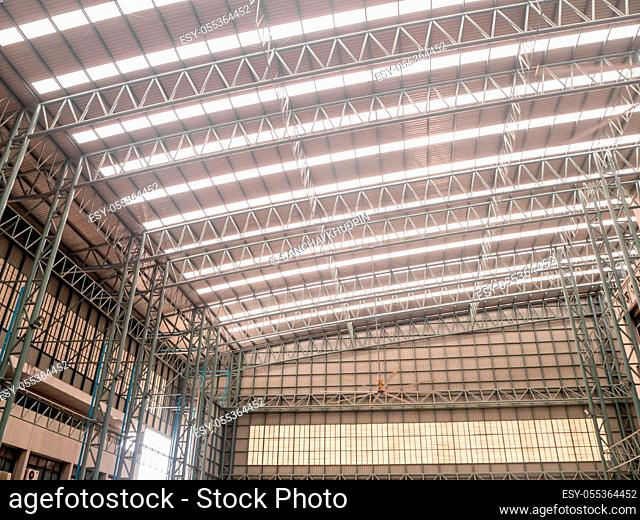 Big Hall Roof steel structure the modern design