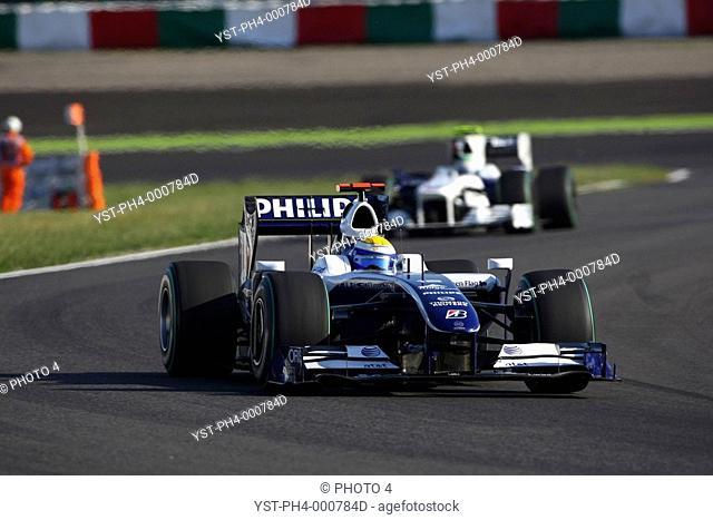 Race, Nico Rosberg, Williams F1 Team, FW31, Grand Prix, 04/10/2009, Suzaka, Japan