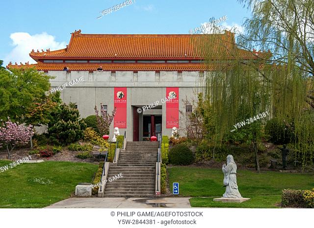Gum San Chinese Heritage Centre at Ararat in western Victoria, celebrates the contribution of Chinese immigrant gold diggers during the 1850s gold rush in...