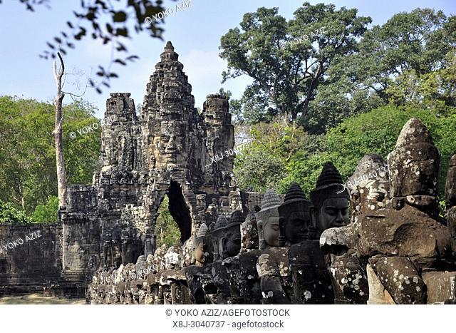 Cambodia, Siem Reap temple, Angkor Wat