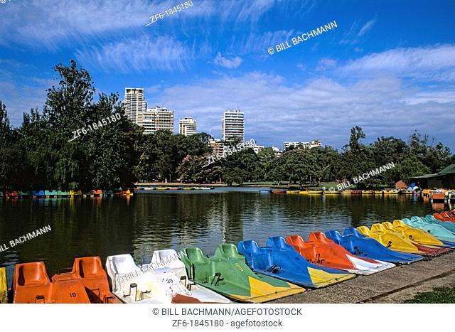 Colorful Boats - Palmero, Buenos Aires, Argentina