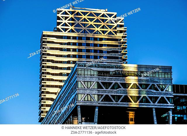 Modern architecture in the Hague, the Netherlands, Europe