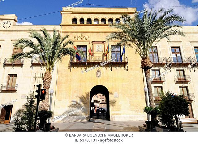 Town hall, Elche, Province of Alicante, Spain