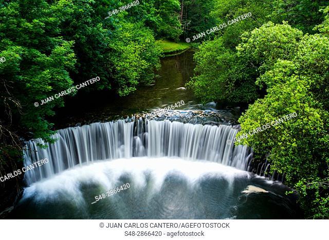 Rio Gandara. Cantabria, Northern Spain