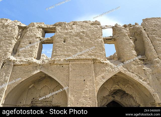 Ruins of Qatruyeh castle, Fars Province, Iran, Asia
