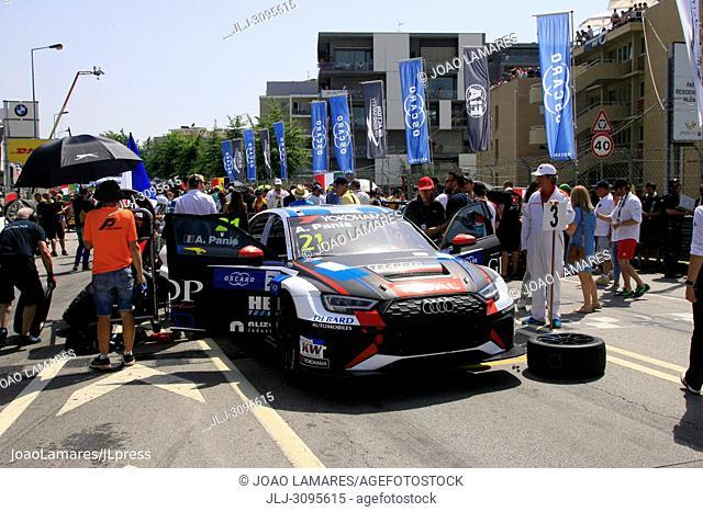 A. Panis, Audi RS3 LMS #21, WTCR Race of Portugal, Vila Real 23-25 de June 2018