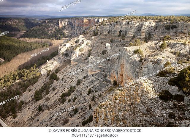 Viewpoint Galiana, Natural Park of Wolves Canyon - Cañon de Río Lobos, Soria, Spain