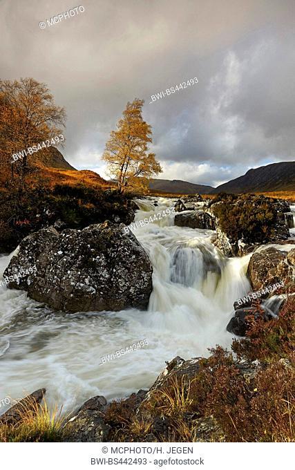 River Coupall on Isle of Skye, United Kingdom, Scotland, Isle of Skye, River Coupall
