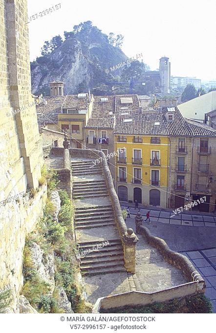 Old town. Estella, Navarra, Spain