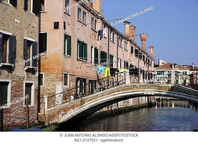 Sestiere di Castello. Venice, Veneto, Italy, Europe