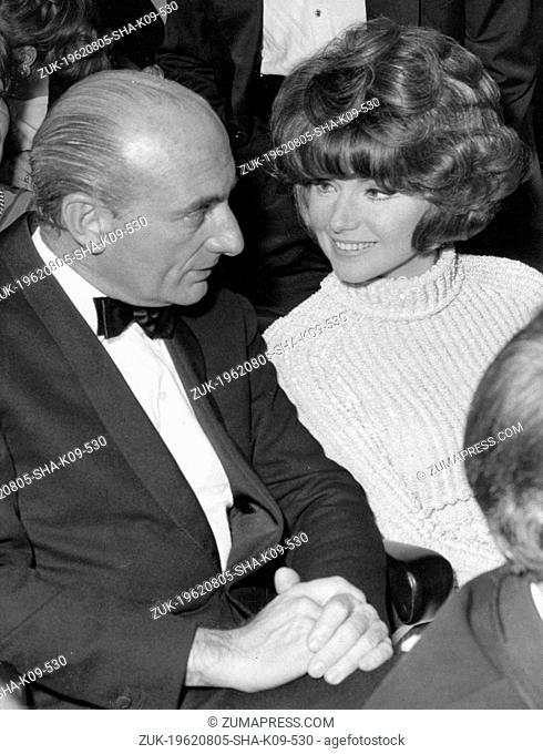 Aug. 5, 1962 - London, England, U.K. - Actress SYLVA KOSCINA (1933 -1994), born as Sylva Koskinon, was a Yugoslavian-born Italian actress of Greek and Polish...