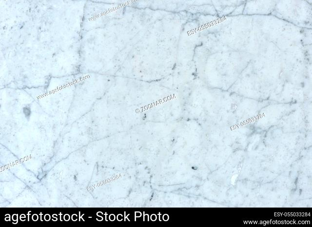 natural pattern of marble white color polished slice mineral. Super high resolution