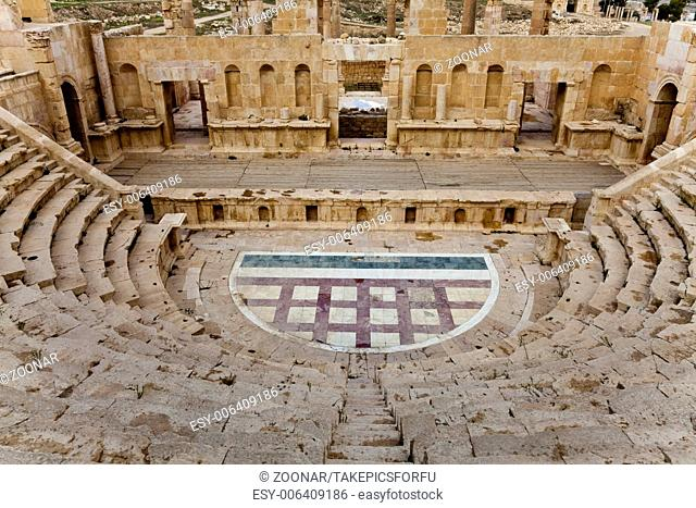 North theater in ancient city of jerash